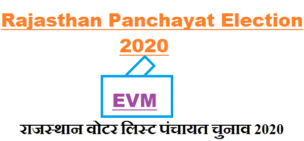 gram panchayat voter list new rajasthan 2021 election