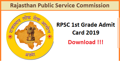 Download RPSC 1st Grade Teacher 2021 Name Wise